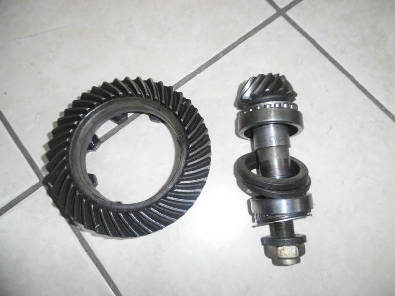 crown wheel&pinion Fiat Panda 14x41